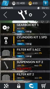 Gears List